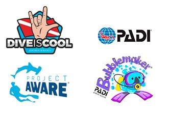 logos-padi-project-aware-bubblemaker-diveiscool