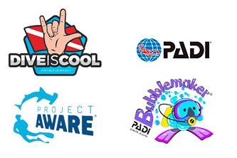 logos-padi-project-aware-bubblemaker-diveiscool